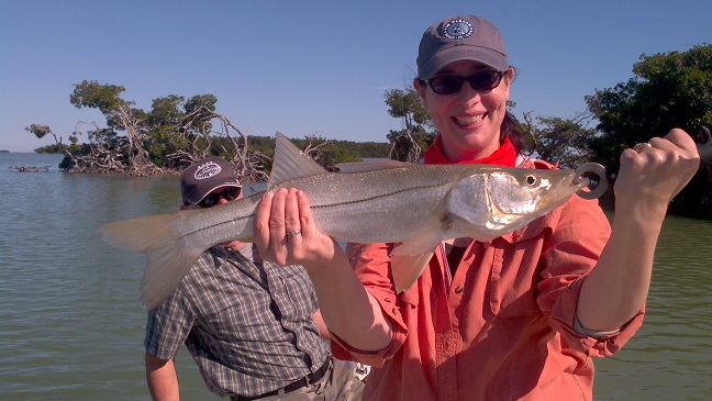 december snook fishing key largo